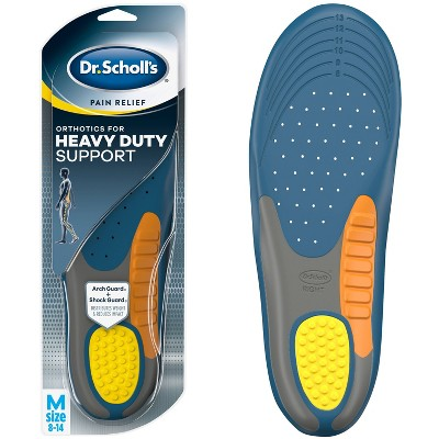 Dr. Scholl's Pain Relief Orthotics Heavy Duty Insoles for Men - Size (8-14)