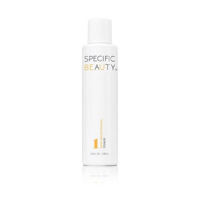 Specific Beauty Skin Brightening Toner - 4 fl oz