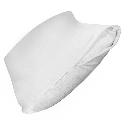 PROTECT-A-BED Plush Fitted Sheet Style Pillow Protector - 1 Each