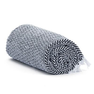 Americanflat Throw Blanket 100% Cotton Medium Weight With Fringe : Target