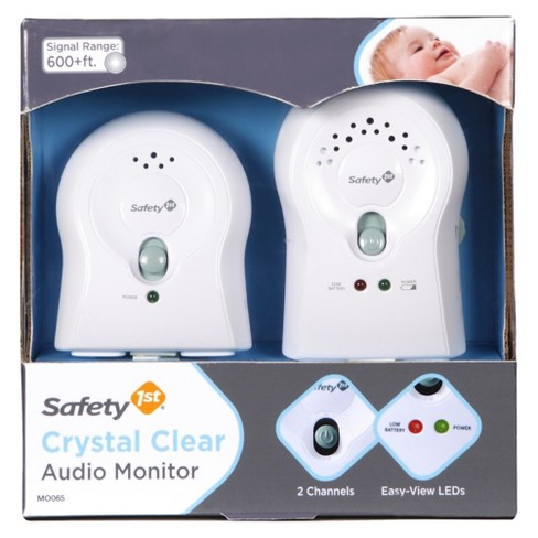 Safety 1st® Crystal Clear Audio Baby Monitor - White - image 1 of 2