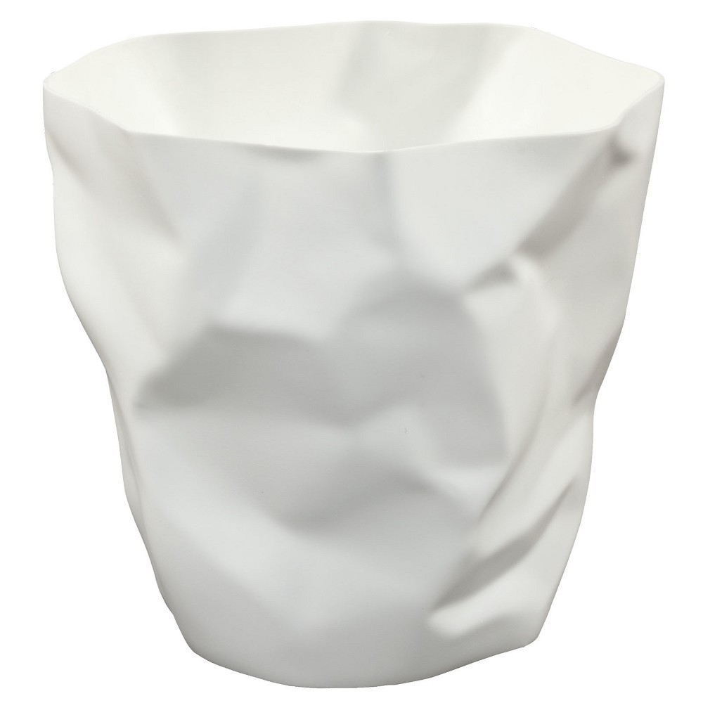 Image of Lava Trash Bin White - Modway