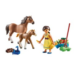 Playmobil Spirit Riding Free Pru with Horse And Foals