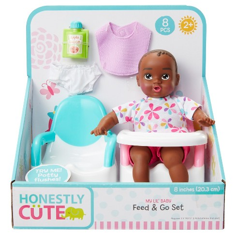 """Honestly Cute My Lil' 8"""" Baby Feed & Go Set - image 1 of 5"""