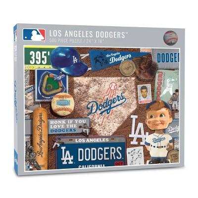 MLB Los Angeles Dodgers 500pc Retro Series Puzzle