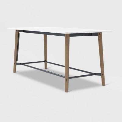 """42"""" X 90"""" Della Rectangle Bistro Table - Olio Designs"""