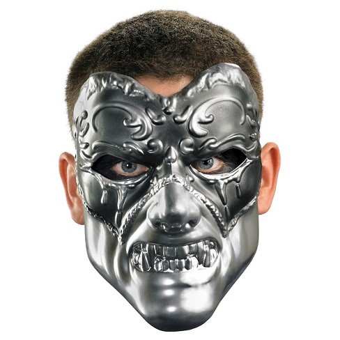 aebe86a50a03a7 Evil Masquerade Mask Silver - One Size : Target