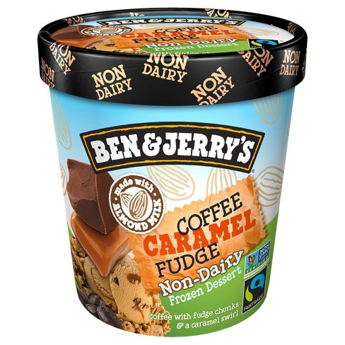Ben & Jerry's Non Dairy Coffee Caramel Frozen Fudge - 16oz - image 1 of 4