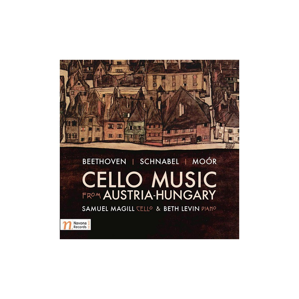 Samuel Magill - Beethoven/Schnabel/Moor:Cello Music (CD)