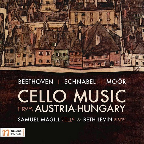 Samuel magill - Beethoven/Schnabel/Moor:Cello music (CD) - image 1 of 1