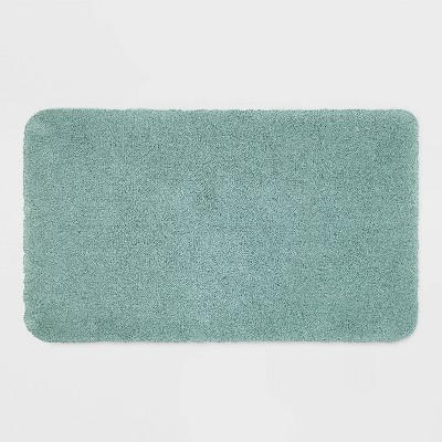 "20""x34"" Performance Nylon Bath Rug Aqua - Threshold™"