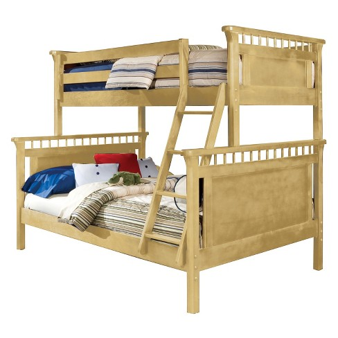 Bennington Twin Over Full Bunk Bed Natural - Bolton Furniture - image 1 of 1