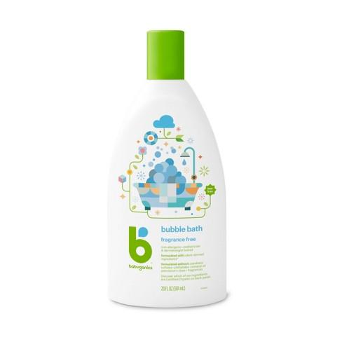 Babyganics Baby Bubble Bath, Fragrance Free - 20oz Bottle - image 1 of 3