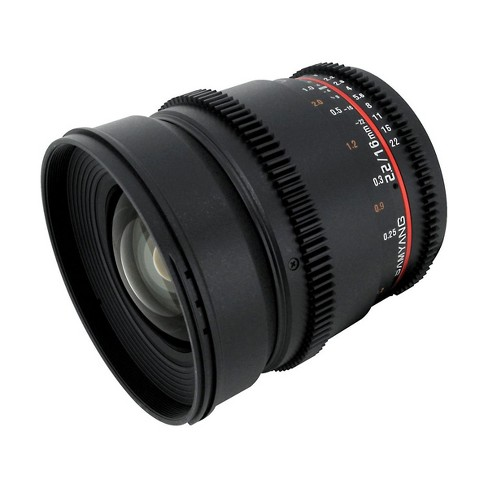 Samyang 16mm T2.2 Wide Angle Cine Lens for Micro Four Thirds - image 1 of 4