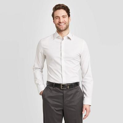 Men's Slim Fit Non-Iron Dress Long Sleeve Button-Down Shirt - Goodfellow & Co™