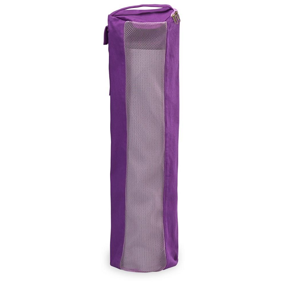 Gaiam Breathable Yoga Mat Bag - Purple