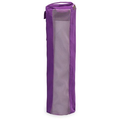 Gaiam Breathable Yoga Mat Bag Purple