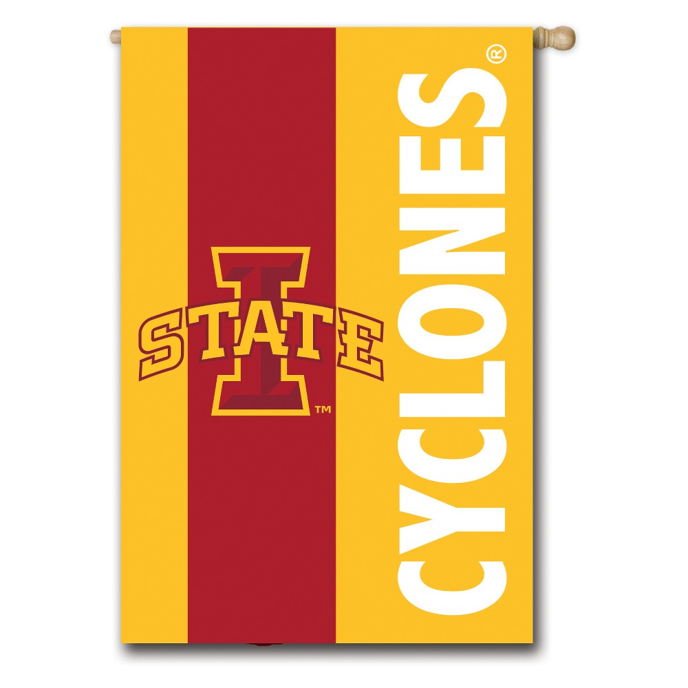 Iowa State Cyclones Embellished House Flag