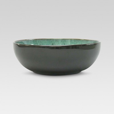 Belmont Serving Bowl Stoneware Green 60oz - Threshold™