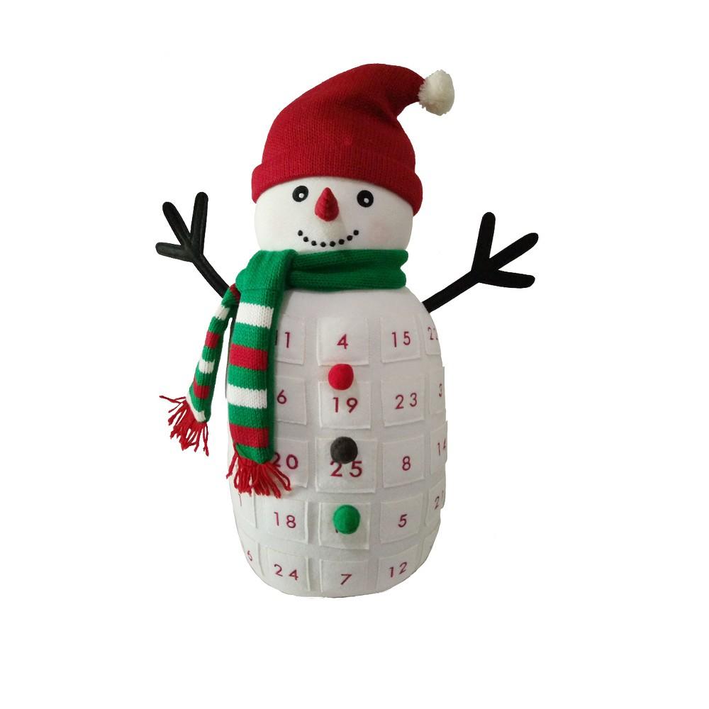 Standing Plush Snowman Advent Calendar - Wondershop