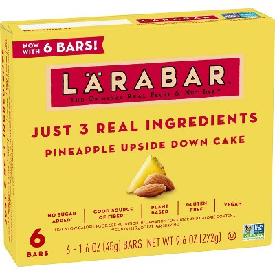 Larabar Pineapple Upside Down Cake - 6ct