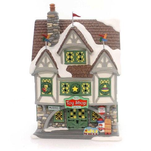 Department 56 House Santa's Toy Shop Christmas Elf Movie  -  Decorative Figurines - image 1 of 4