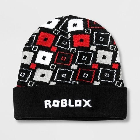 f380e879685 Boys  Roblox Cuffed Beanie - Black One Size   Target