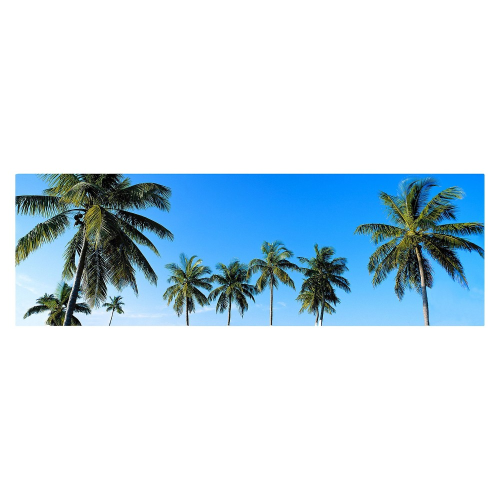 'Palms' by Preston Ready to Hang Canvas Wall Art, Multi-Colored