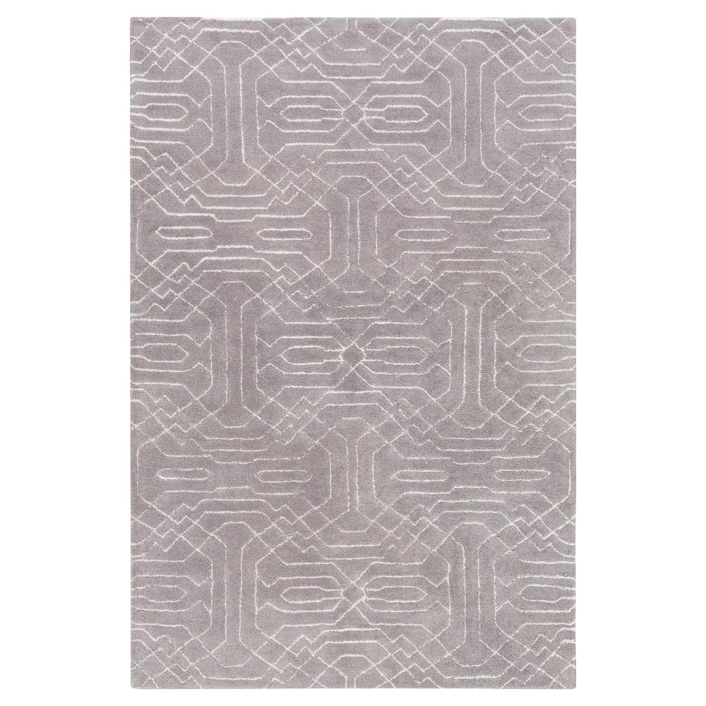 Astrid Area Rug - Medium Gray - (5' x 7'6) - Surya