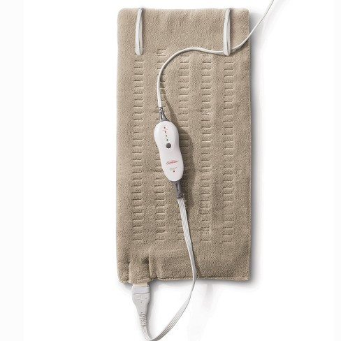 Sunbeam Premium Machine Washable Integrated Heating Pad with Compact Storage - King Size - image 1 of 4