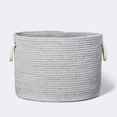 Large Round Coiled Rope Basket - Cloud Island™