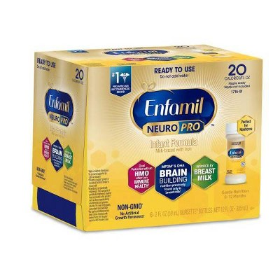 Enfamil NeuroPro Infant Formula Ready to Use Bottles - 6ct/2 fl oz Each