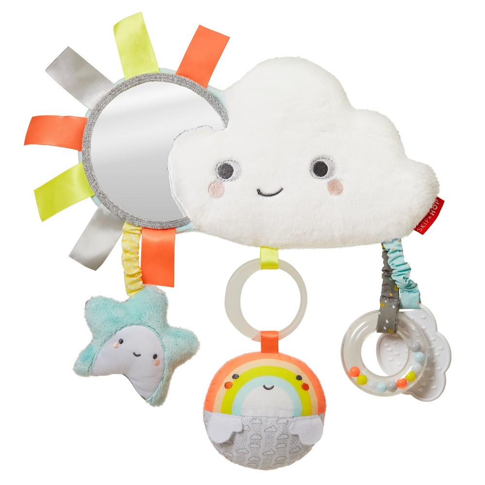 Skip Hop Silver Lining Stroller Bar Toy - Cloud