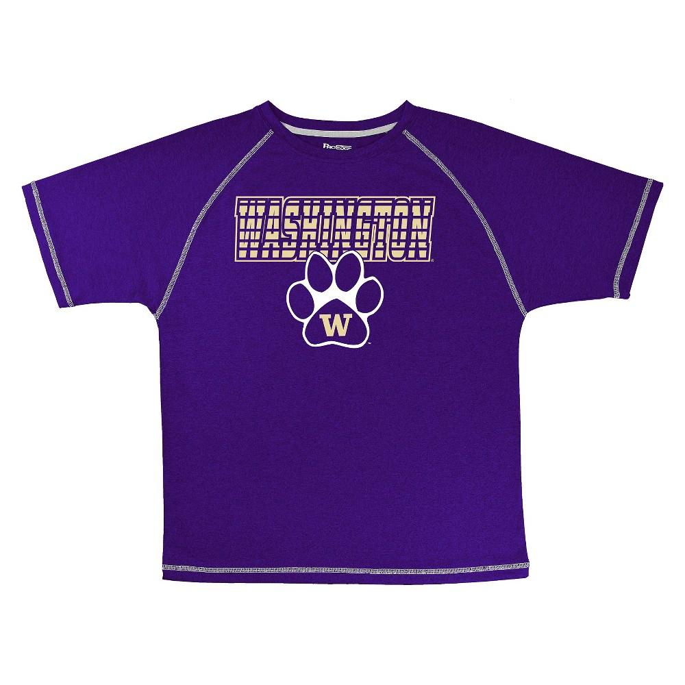 Washington Huskies Boys' T-Shirt Purple XS