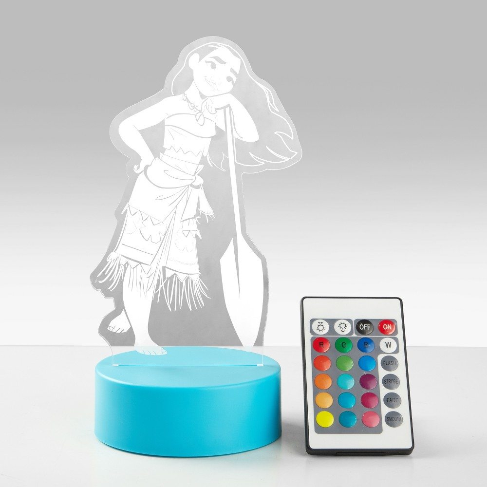 Image of Disney Moana Led Lamp, Blue