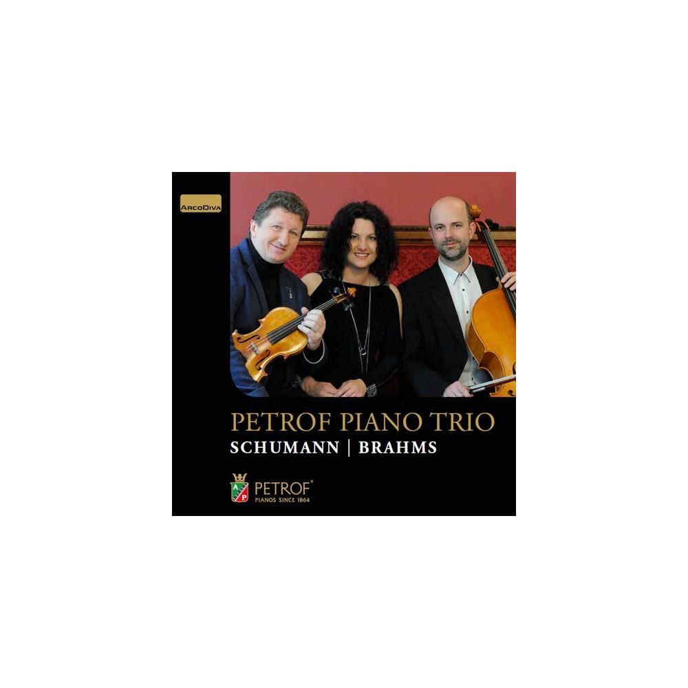 Petrof Piano Trio - Schumann/Brahms:Chamber Works (CD)