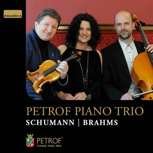 Petrof Piano Trio - Schumann/Brahms:Chamber Works (CD) - image 1 of 1