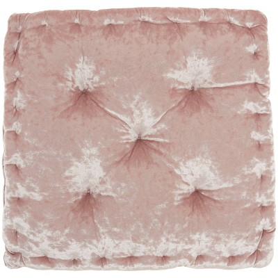 """18""""x18"""" Life Styles Square Booster Seat Cushion Rose - Mina Victory"""