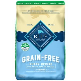 Blue Buffalo Grain-Free Puppy Recipe With Chicken, Potatoes & Peas - Dry Dog Food - 20lb