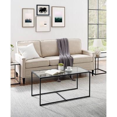 3pc Dorian Industrial Nesting Table Set - Saracina Home