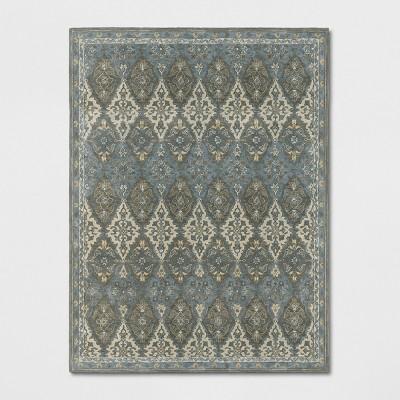 9'X12' Tufted PersianArea Rugs Gray - Threshold™