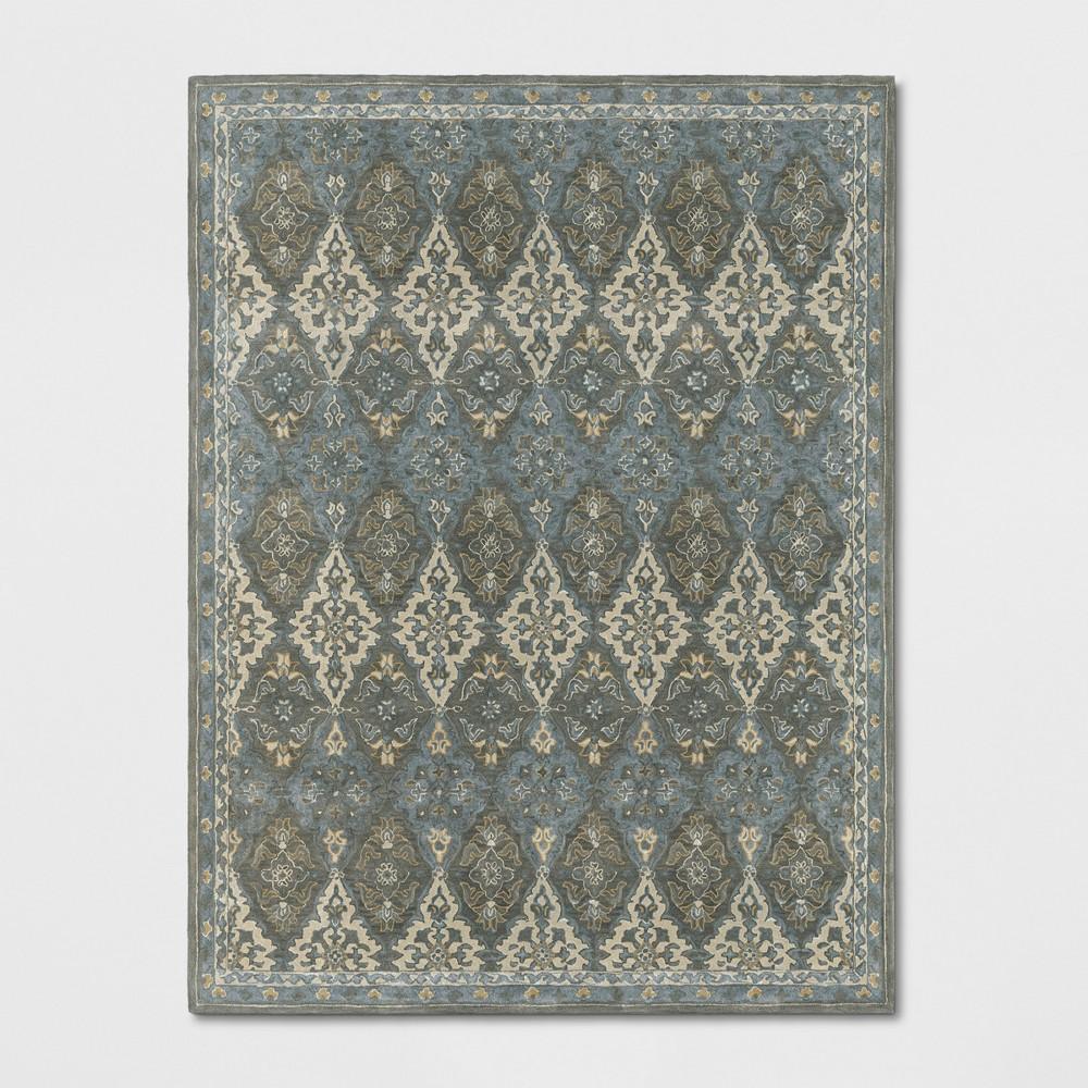 9 39 X12 39 Tufted Persianarea Rug Gray Threshold 8482