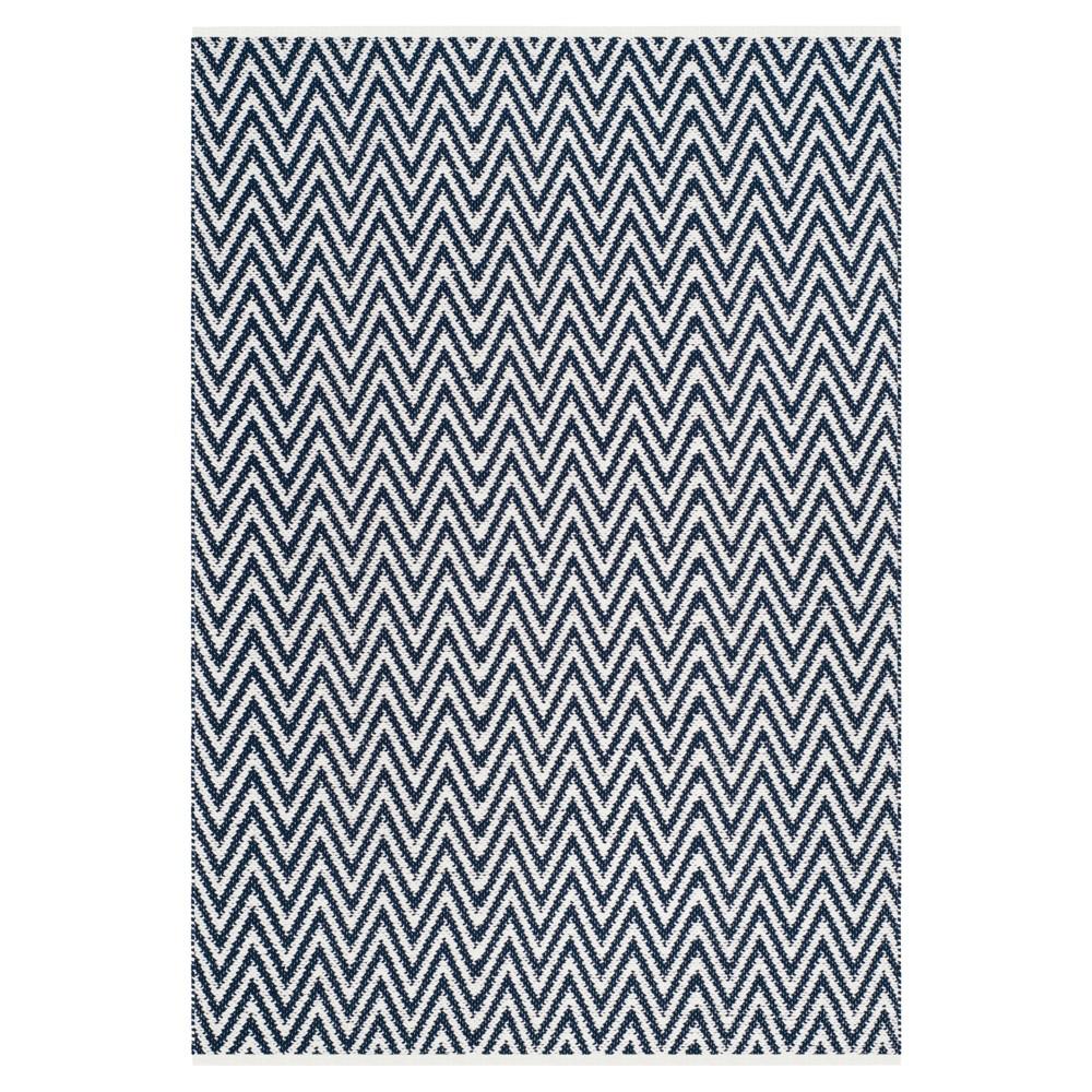 Montauk Rug - Navy/Ivory (Blue/Ivory) - (5'x7') - Safavieh