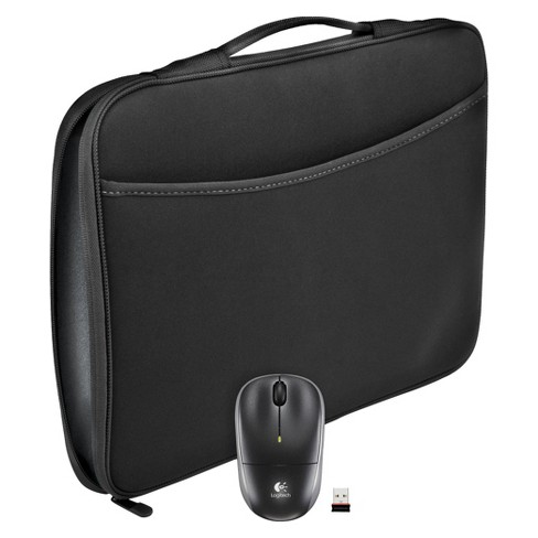 Logitech Laptop Sleeve with Mouse - Black (910-002138) - image 1 of 1