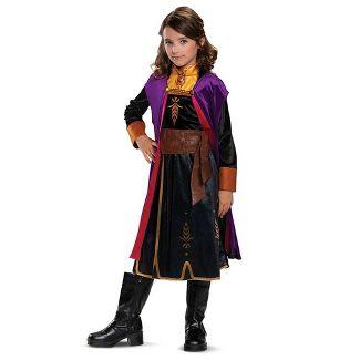 Girls' Disney Frozen Anna Deluxe Halloween Costume S