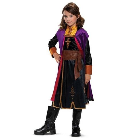 Girls' Disney Frozen Anna Deluxe Halloween Costume - image 1 of 1