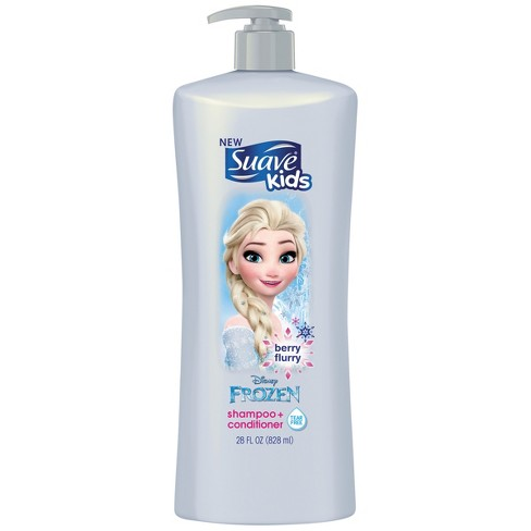 Suave Kids Disney Frozen Tear Free Berry Flurry Shampoo + Conditioner - 28 fl oz - image 1 of 2