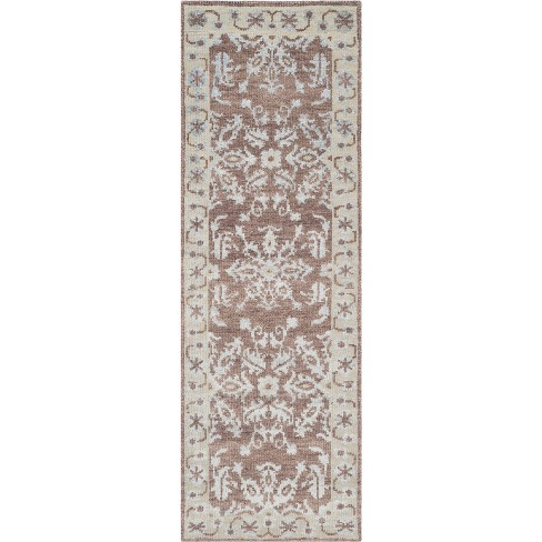 Bertie Medallion Knotted Rug - Safavieh - image 1 of 4