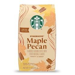 Starbucks Maple Pecan Medium Roast Ground Coffee - 11oz