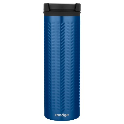 Contigo 20oz TwistSeal Eclipse Coffee Travel Mug Blue